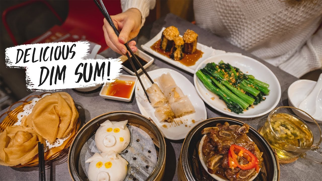 Best Hong Kong DIM SUM TOUR - Cheapest Michelin Star Restaurant!?