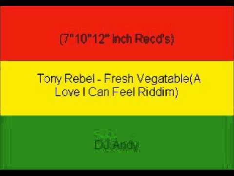 Tony Rebel - Fresh Vegatable(A Love I Can Feel Riddim)