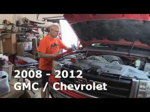 2008 – 2012 GMC -Chevrolet Truck Head Light replacement