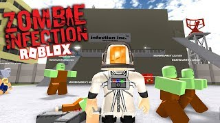 EXTERMINATE THE HUMAN RACE WITH A ZOMBIE INFECTION!!! - ROBLOX INFECTION INC