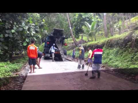 Barangay Road Concreting -Philippines