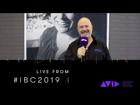 #AVID #IBC2019 LIVE ⏩ What's new and coming to Media Composer 2019.9?