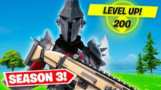 LEVEL 200 IN FORTNITE CHAPTER 2 SEASON 3! (What Are The Secret Rewards?)