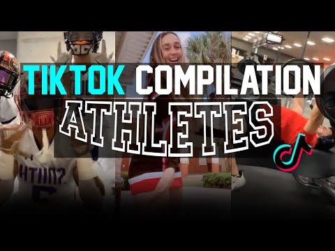 Tik Tok Compilation   ATHLETES V3