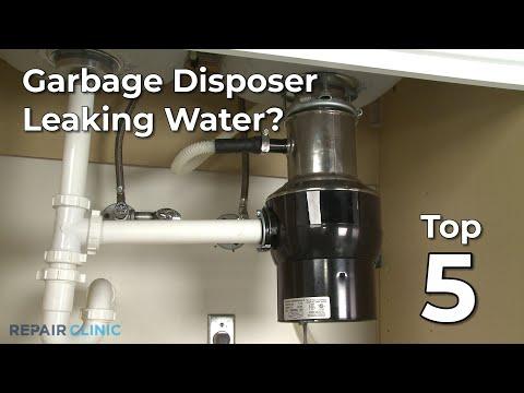 """Thumbnail for video """"Garbage Disposer Leaking Water? Garbage Disposer Troubleshooting """""""