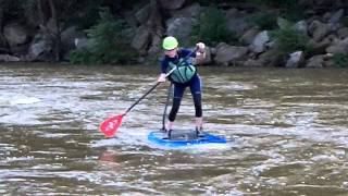 Black Dog Paddle, Camille Smith, Whitewater SUP, James River, SUP Richmond, VA, RVA