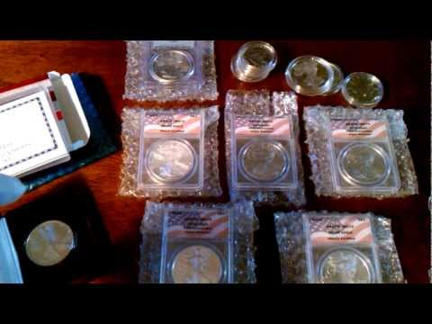 Buying Silver & Gold Coins at Estate Sales & Auctions