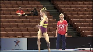 IT ONLY TOOK 5 SECONDS FOR LIBS TO GET FURIOUS OVER THIS GYMNAST'S EPIC ROUTINE