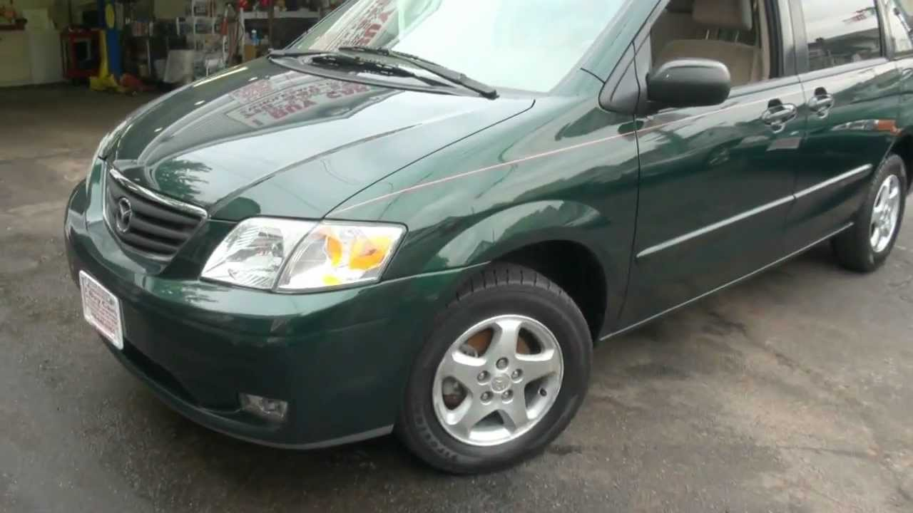 2000 Mazda MPV LX Multi Purpose Vehicle - YouTube
