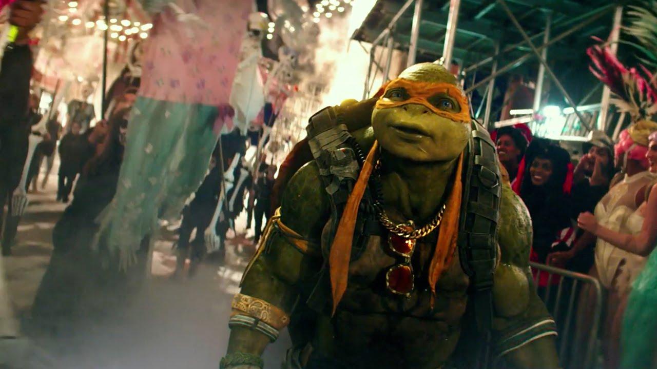 Teenage Mutant Ninja Turtles 2 2016 Halloween Parade Clip Paramount Pictures Youtube
