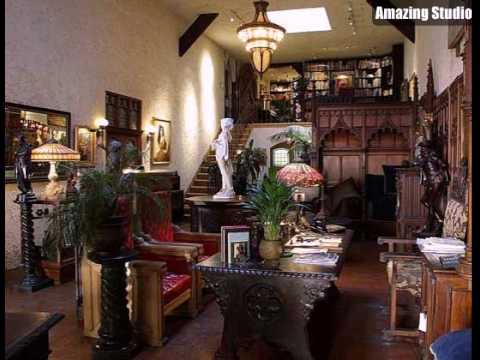 Gothic Home Decor Living Room