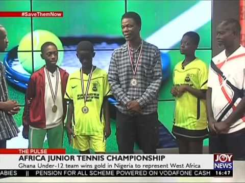 Africa Junior Tennis Championship - The Pulse Sports (5-5-17)
