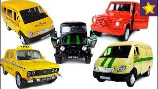 Машинки Welly Сборник лучших серий с историями Cars Toys for kids