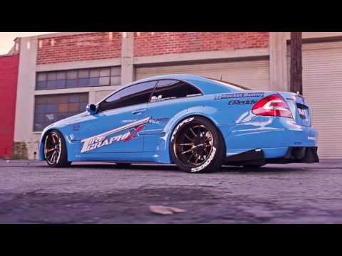 Mercedes CLK 63AMG  - Rocket Bunny