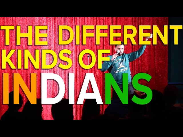 The Different Kinds Of Indians | Akaash Singh | Stand Up Comedy