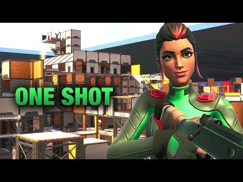 *NEW* FORTNITE ONE SHOT MAP | MY BIGGEST MAP SO FAR! (Fortnite Creative Mode)
