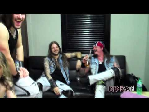Iced Earth Webisode 2 - Final Leg Of The Dystopia World Tour