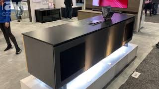 CEDIA 2019: Salamander Designs Presents Barcelona Cabinet with Milan Front