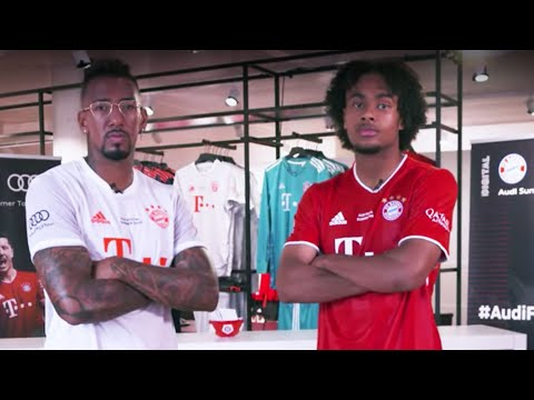 Jérôme Boateng & Joshua Zirkzee | FC Bayern Audi Summer Tour Quiz