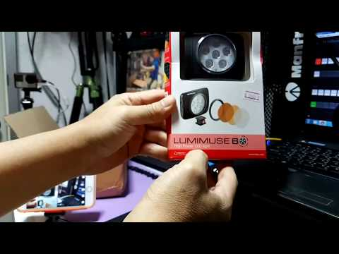 TaluiTamtawan Live Broadcast : UnBox Review Manfrotto LED & DJI OSMO Accessories