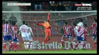 Saque Esquina defensivo ZONA. Girona 1 - RCD Mallorca 0. 2ª División 16/17