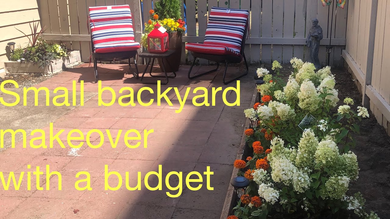 Small Backyard Makeover On A Budget 2019 You