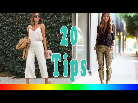 20 Style Tips On How To Wear Formal Pants Instead Of A Dress