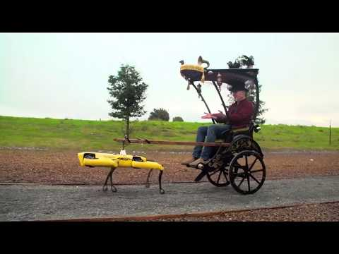 Highlight Of Adam Savage's Spot Robot Rickshaw Carriage!