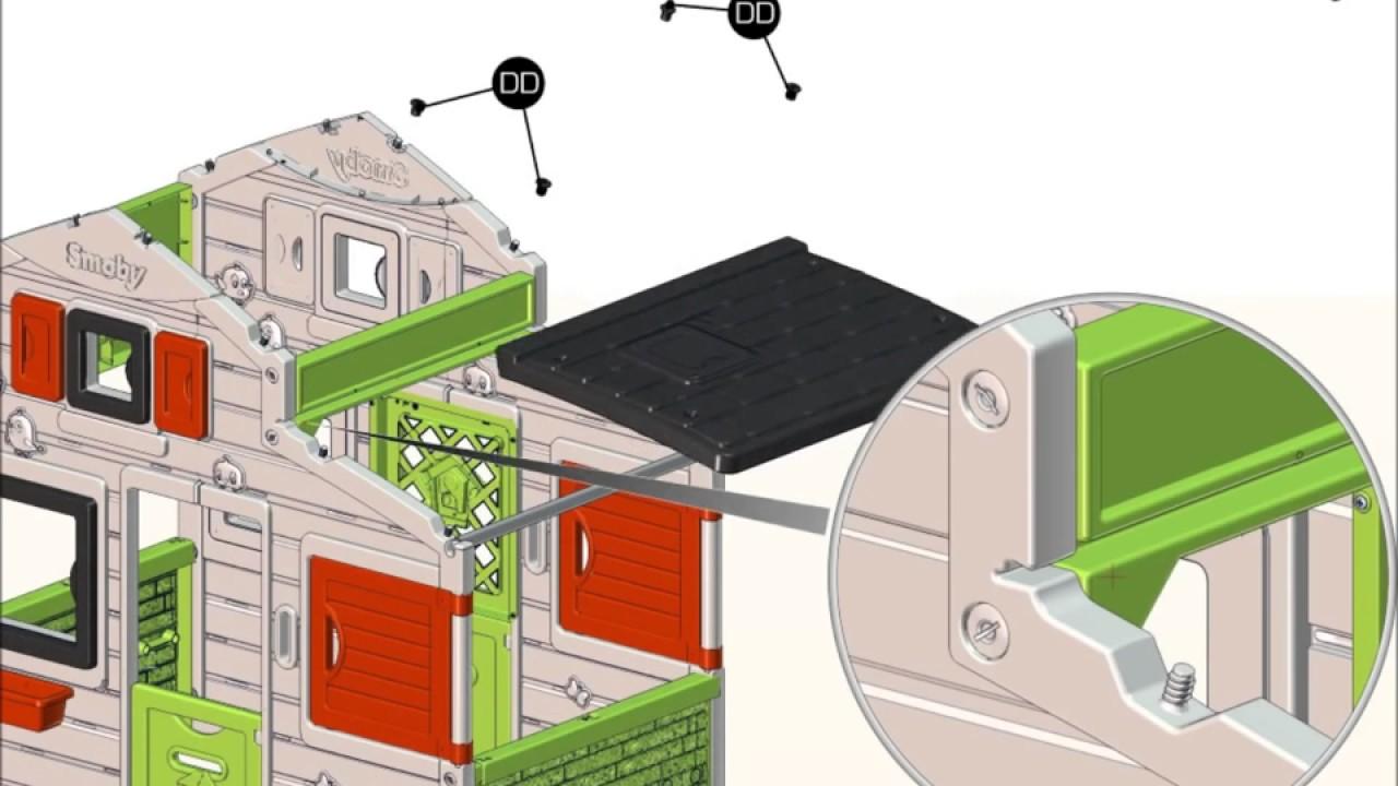 Smoby Domek Friends House Instrukcja Montażu