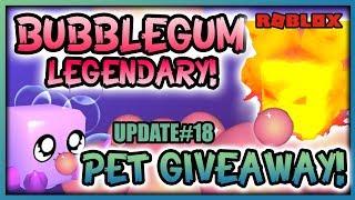 🔔 Bubblegum Sim Legendary Live Event 🏖 BEACH WORLD GIVEAWAY 🥚 Update #18 (Roblox)