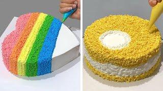 Wonderful Cake Decorating Ideas Compilation | So Yummy Chocolate Cake | Cake Design Tutorial