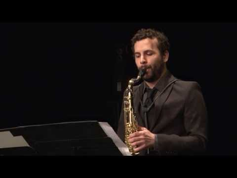 "Naoki Sakata, ""Phytolith I"" for tenor saxophone and electronics"