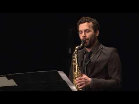 """Naoki Sakata, """"Phytolith I"""" for tenor saxophone and electronics"""