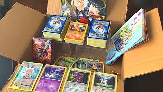 UNBOXING A MYSTERIOUS MYSTERY BOX WITH POKEMON CARDS! *Letters For Leonhart*