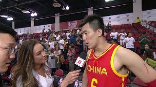 Team China Historic Win in 2019 NBA Summer League! Guo Ailun Postgame Interview | July 8, 2019
