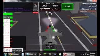 Roblox carrier takeoff and landing
