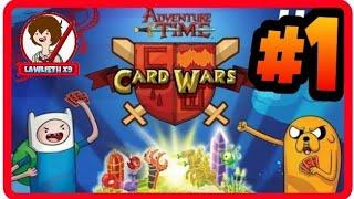 ► Card Wars: #1 | Gameplay | ESPAÑOL | HORA DE AVENTURA | Guerra de Cartas