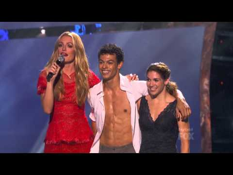Alison & Chehon Performing Contemporary Routine on SYTYCD