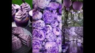 Purple Themed Wedding Decorations Ideas