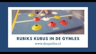 Rubik's Cube in de gymles!