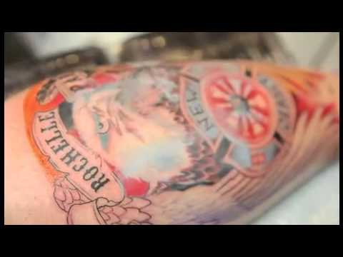 Mario Barth giving some Tips on Tattooing - Intenze Tattoo Ink - Painful Pleasures.com