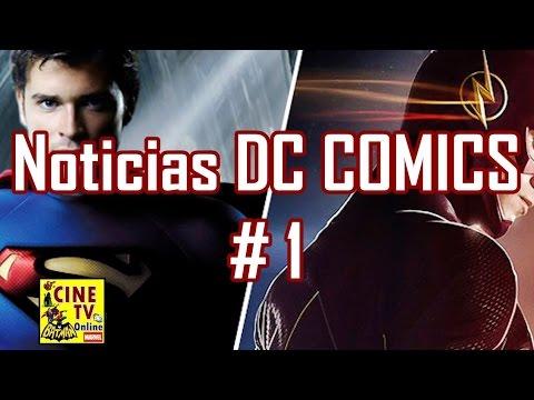 Noticias DC # 1 - Superman en The Flash, Nuevo traje de Arrow, Ben Affleck desafia a Marvel