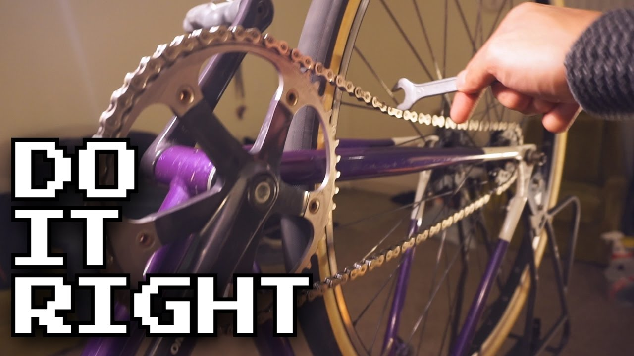 Easy Way To Tension Your Fixed Gear Chain Youtube