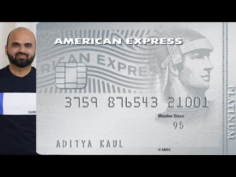 American Express Platinum Travel Credit Card ! Info, Eligibility ( Hindi)