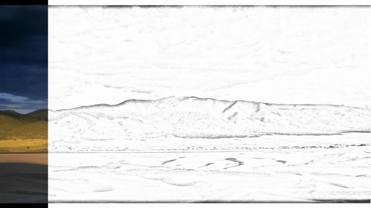 Auto Draw 2 Dark Sky Over Great Sand Dunes National Park