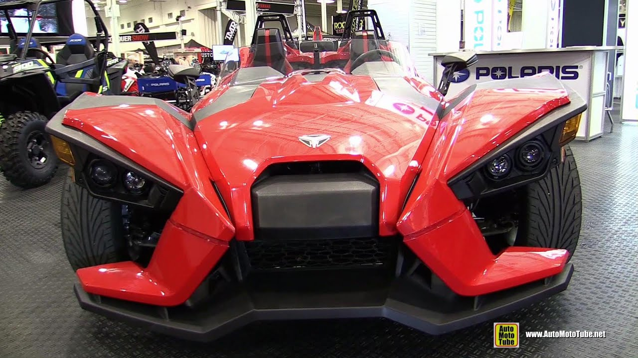 2015 polaris slingshot trike exterior and interior walkaround 2014 toronto atv show youtube. Black Bedroom Furniture Sets. Home Design Ideas