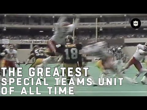 The Greatest Special Teams Unit Of All Time   NFL Vault Stories