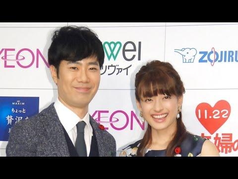 藤井隆&乙葉、結婚10年もラブラブ「この人でよかった」 理想の夫婦に選出『いい夫婦 パートナー・オブ・ザ・イヤー 2015』