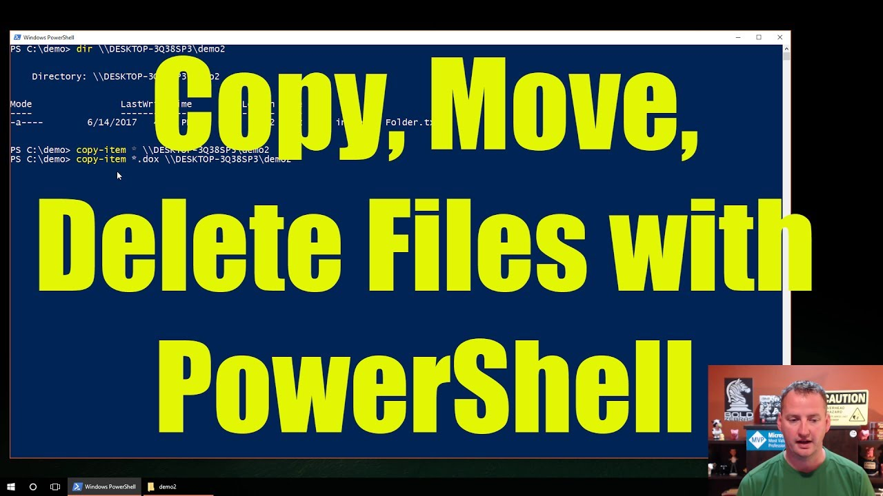 PowerShell commands to copy files: Basic to advanced methods