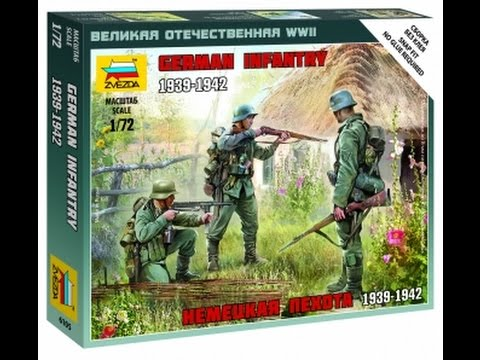 Lets Start Paint Some Figures From Zvezda 1:72 Art Of Tactic